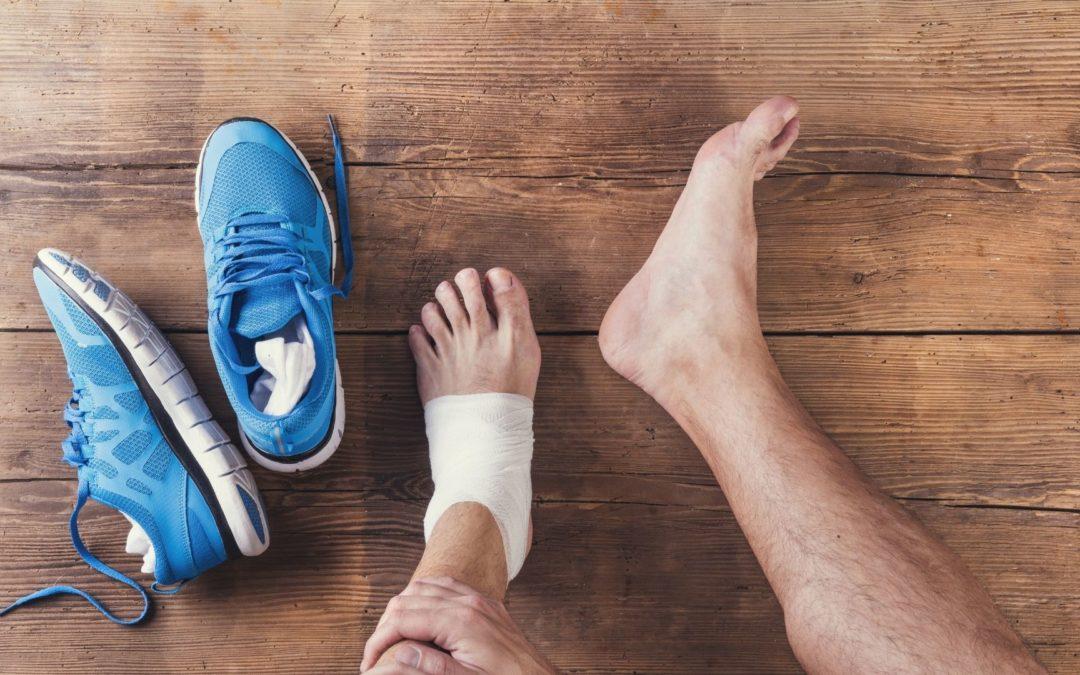 ENTORSE : 4 principes à appliquer dans les premières 48 heures pour soulager la douleur